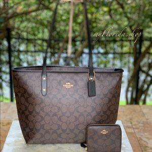 NWT❗️COACH set Bag&Wallet